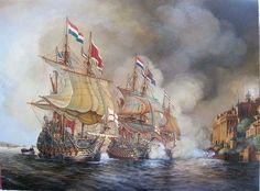 Anglo Dutch Wars, Nautical Pictures, Hms Hood, Old Sailing Ships, Ship Paintings, Boat Art, Wallpaper Space, Military Diorama, Nautical Art