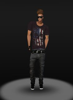 IMVU, the interactive, avatar-based social platform that empowers an emotional chat and self-expression experience with millions of users around the world. Social Platform, Virtual World, Imvu, Avatar, Join, Hipster, Mens Tops, Fashion, Moda