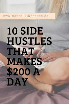 10 Stay-At-Home Side Hustles for Single Moms - Earn extra-money - Hobby