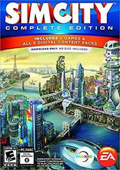 SimCity is a MMO city-building and urban planning simulation game, developed by Maxis and published by Electronic Arts. The game is the sixth major installment in the SimCity series and first in Ea Games, Games To Play, Hd Space, Mac Download, Online Video Games, Technology Gifts, Xbox 1, Game Codes, Apps