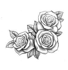 rosen vorlage tattoo selbstgemalt pinterest rose. Black Bedroom Furniture Sets. Home Design Ideas