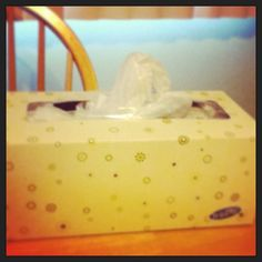Organization tip: use Kleenex boxes for plastic grocery bag storage in places around the house such as by small trash cans on in hallway closet. Much neater than storing bags inside one another!