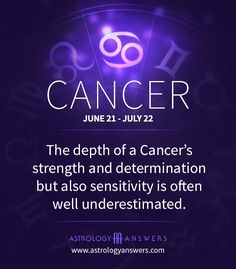 The depth of a #cancers strength and determination but also sensitivity is often well underestimated