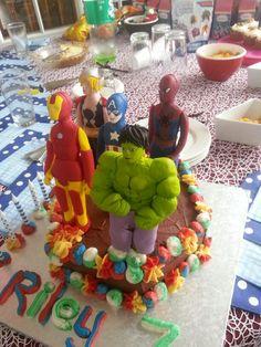 Avengers cake 2014