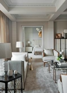 Jean Louis Denoit / Living room / interior design & decor ideas