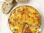 rosemary potato frittata.