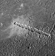 Maxime Duprez @maximaxoo:  #Space: chain of craters on #Jupiter's moon #Ganymede formed by a torn #comet http://photojournal.jpl.nasa.gov/catalog/PIA01610 … via @NASAJPL