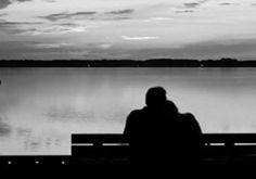 Vorrei sedermi vicino a te in silenzio