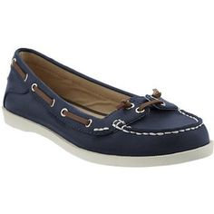 NEW Womens Boat shoes Navy Blue casual canvas deck driving ...