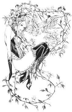 「花咲かエルフ」/「爽々」のイラスト [pixiv]