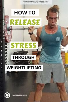 As a Fitness Trainer for men, I always teach how important it's to use your workouts as a way to release stress from your body. This will improve your training and overall well being. Click through to learn how to release your stress through weightlifting Fitness Workouts, Ace Fitness, Fitness Motivation, Training Fitness, Fitness Diet, Mens Fitness, Fun Workouts, Health Fitness, Fitness Music