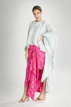 7b406af46ecbc Add that Much Needed Drama to your Ethnic Wardrobe with this Gorgeous Top  and Skirt Set
