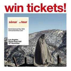 Barcelona's @sonarsp is touring #NorthAmerica! Win tickets to #bethere for the first ever #SonarLA on Nov. 10 go to our Facebook page to enter!