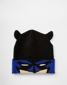 ASOS+Batman+Beanie+In+Black