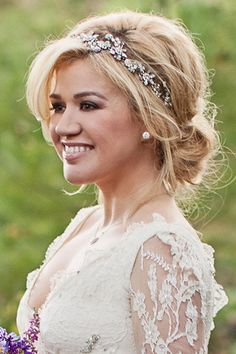 Wedding Magazine - Celebrity wedding hair ideas
