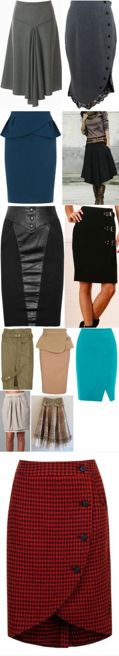 Pobdorka skirts for inspiration (without drawing)