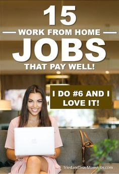 If you're looking for real work from home jobs you have to check out this list. These are work at home jobs that people are actually doing that pay well. Money Saving Mom, Best Money Saving Tips, Money Tips, Legitimate Work From Home, Work From Home Jobs, Earn Money From Home, How To Make Money, Living On A Budget, Frugal Living