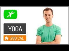 Aula de Yoga para Iniciantes - #2 - Para Melhorar o Condicionamento Físico - YouTube