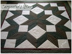 (7) Name: 'Quilting : A Carpenter's Star
