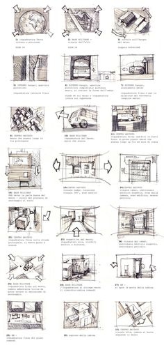 Storyboards by Hive Division, via Behance