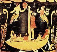 Odysseus & the Sirens - Ancient Greek Vase Painting Classical Greece, Classical Art, Ancient Greek Art, Ancient Greece, Greek History, Ancient History, Odysseus And The Sirens, Greek Pantheon, Greek Pottery