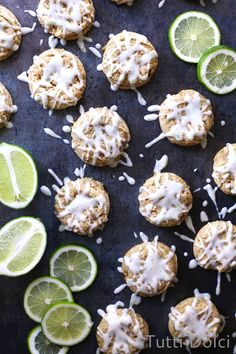 Lime Cream Cheese Cookies | Tutti Dolci