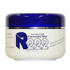 R222 'Concours Look' Carnauba Wax