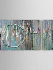 Oil Painting Modern Abstract  Set of 3 Hand Painted Canvas with Stretched Framed – NZD $ 278.19