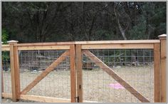 Cattle Panel Fence Gate