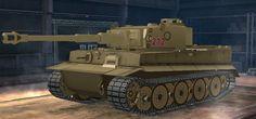 Girls und panzer,  Kuro mori mine