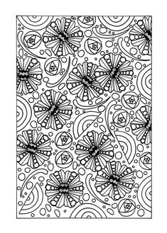 Here is the perfect FREE adult coloring page for those days were you need to unwind after a stressful day. #FaveCrafter #coloring #adultcoloring