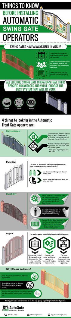 Automatic Swing Gate Operators