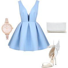 Gala girl by madster01 on Polyvore featuring polyvore, fashion, style, Sophia Webster, GUESS and River Island