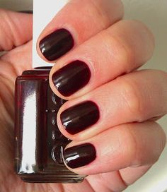 Wicked Essie Nail Color Perfect For Fall Curly Wearing This