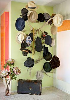 colocar sombreros