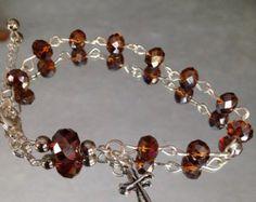 Rosary Bracelets by markkymarkky on Etsy