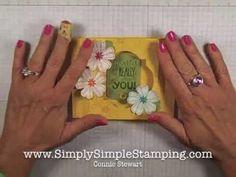 Simply Simple FLASH CARD 2.0 - Flower Shop Shadow Box Card by Connie Stewart video no.22