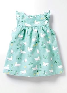 Ruffle Cord Pinafore Dress | Boden
