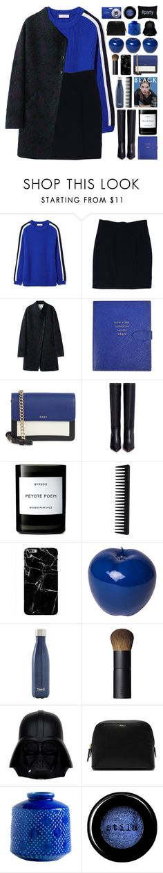 """""""As You Are"""" by vip-beauty ❤ liked on Polyvore featuring Tory Burch, Alice + Olivia, Band of Outsiders, Smythson, DKNY, Valentino, Byredo, GHD, Harper & Blake and Bitossi"""