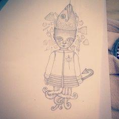 #fish #babyfish #sketch
