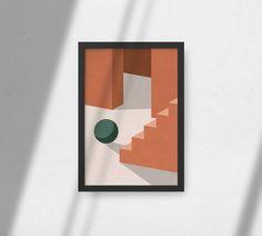 Botanical Wall Art, Botanical Prints, Wall Art Decor, Wall Art Prints, Geometric Shapes Art, New Media Art, Architectural Prints, Shape Art, Minimalist Art