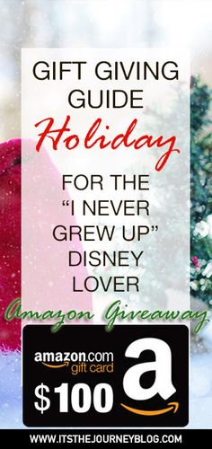 Holiday Gift Ideas for the Disney Lover!  Holiday shopping made easy!  Mickey mouse, Disney Gifts.