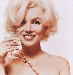 """She was the color of champagne, the color of alabaster.  We were ready to begin"" - Bert Stern"