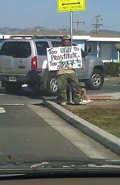 He'd get a few bucks from me for making me smile.