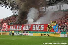 Pyroshow RWE Fans Ultras