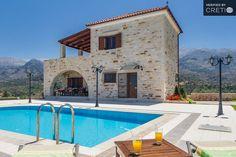 Stone Pool Villa in Ramni, a traditional villa in Crete