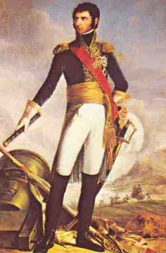 Jean Baptiste Jules Bernadotte, Marshal of France, later King Karl XIV Johann of Sweden, and one of the best swedish kings ever. son of a clerk. he enlisted in an infantry regiment at 16.