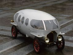 The 1914 A.L.F.A. 40/60 HP Aerodinamica Prototype was a very early attempt at creating an aerodynamic automobile. Thanks to its teardrop shape, the Aerodinamica could attain a top speed of 86 mph f...