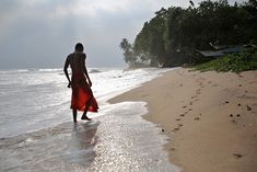 from my travels in Sri Lanka. young buddhist monk on the beach Buddhist Monk, Sri Lanka, Building, Beach, Nature, Travel, Naturaleza, Viajes, The Beach