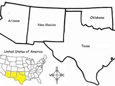 Introduce your students to the SOUTHWEST REGION of the United States with this free printable handout of one page (plus answer key). Using the map of the Southwest Region, find the four states of the region in the word search puzzle: Arizona, New Mexic.